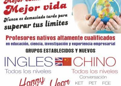 Happy New Year clases chino Aranjuez