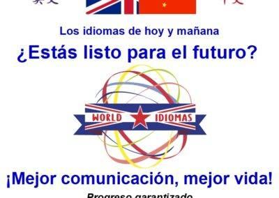 World Idiomas Aranjuez poster