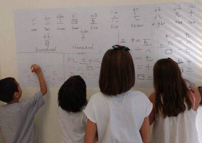 Learning Chinese numbering Aranjuez