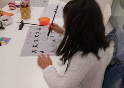 Chinese learning at World Idiomas Aranjuez