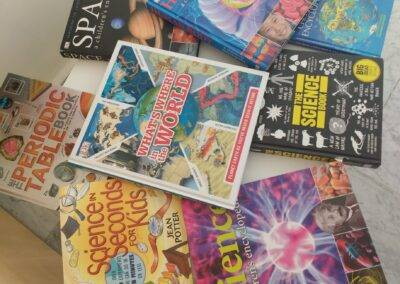Source books for a wide variety of English lessons at World Idiomas