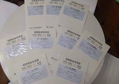 World Idiomas Aranjuez Official Chinese Certificates