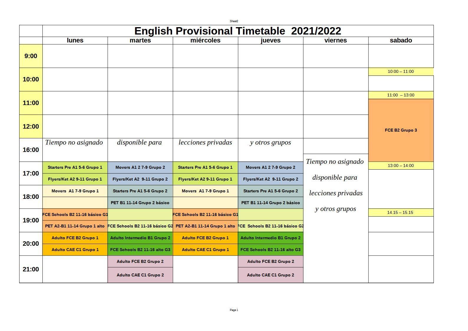 English Aranjuez